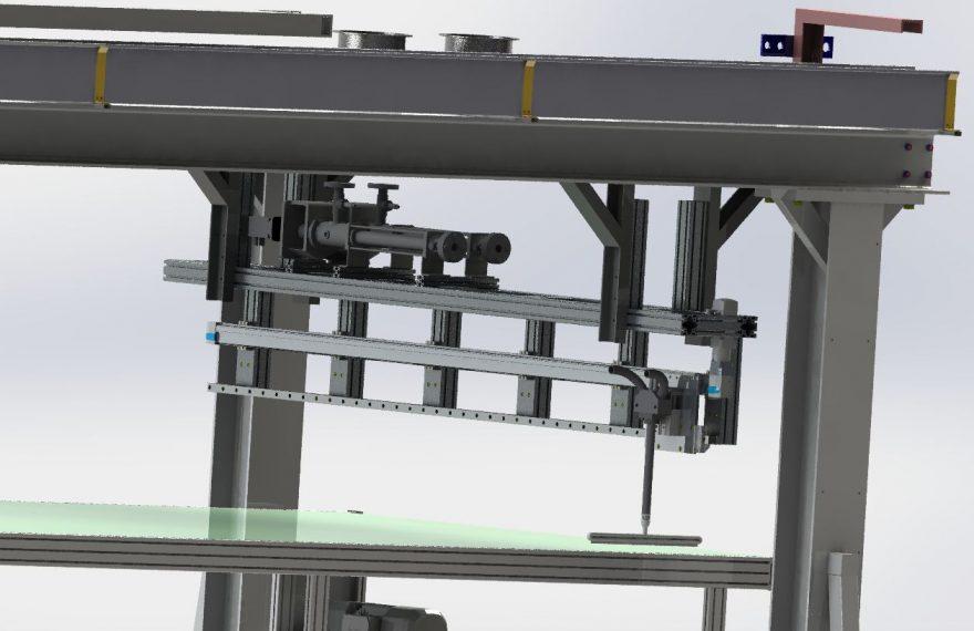2-K Klebstoffauftragssystem