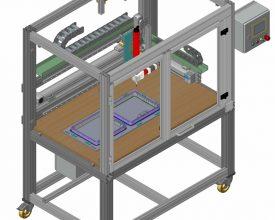 CNC adhesive sealant dispenser