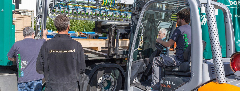 Weltweiter Transport ab Werk