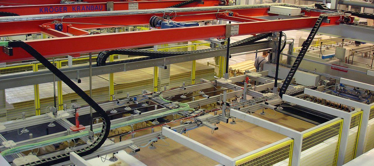Materialhandling per Vakuumtransport