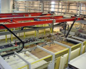 Materialhandling per Vakuumtransport