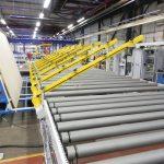 Material Handling Eingliederung in Produktionslinien