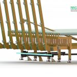 Vacuum transport and stacking | Transporttisch mit integrierter Abstapelvorrichtung