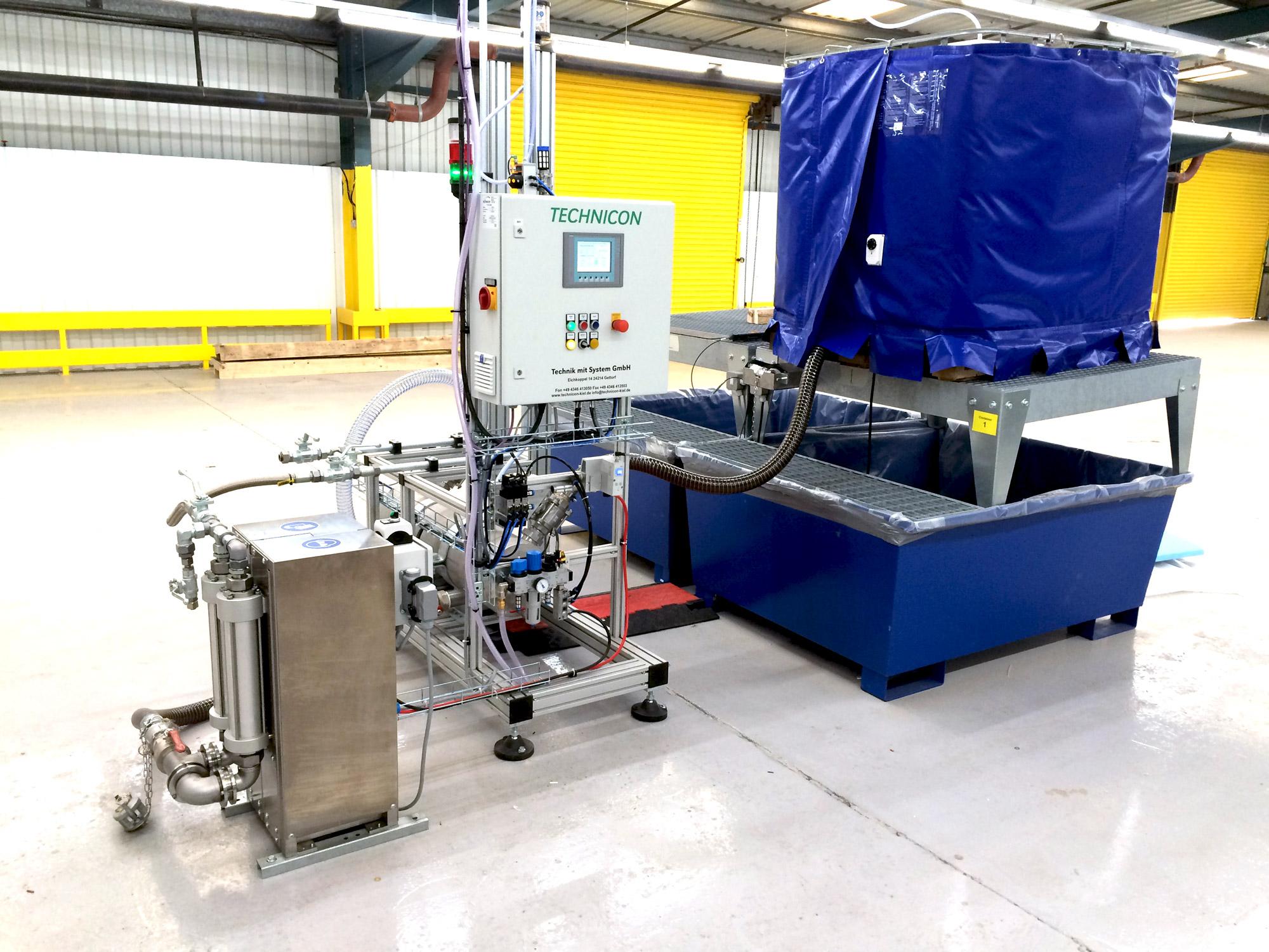 Pumpe Klebstoffauftragssystem